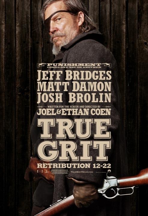 Affiche van 'True Grit'