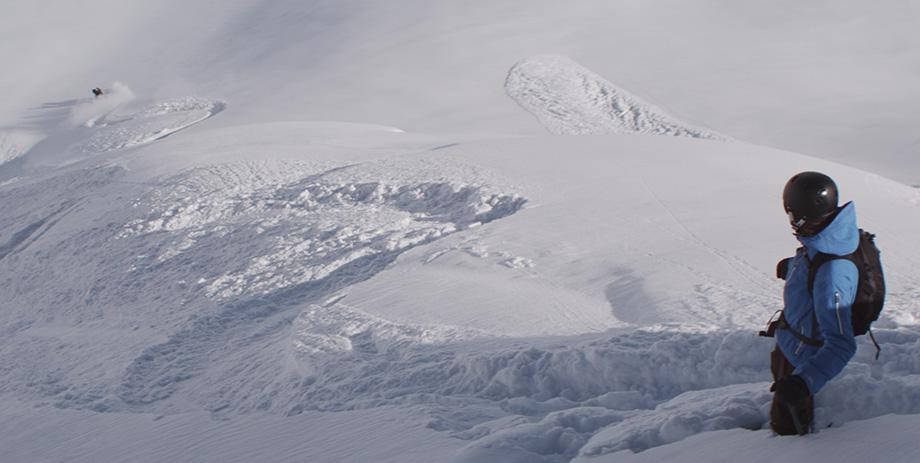 Sneeuwlandschap uit film