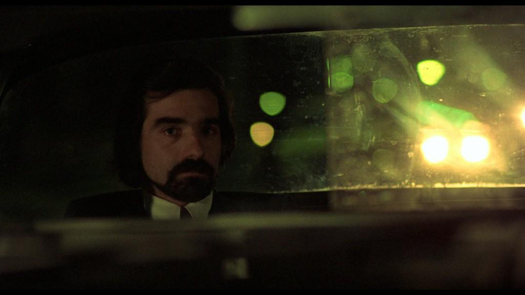 Scorsese als passagier in de Travis' taxi