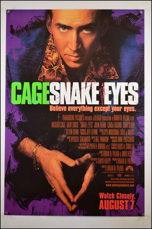 Affiche voor Snake Eyes
