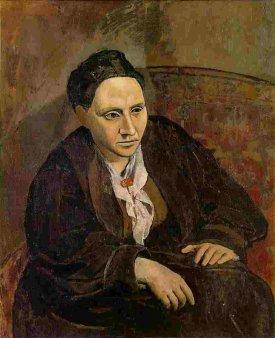 Picasso, Gertrude Stein, 1906.