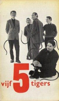 Omslag Vijf 5 tigers