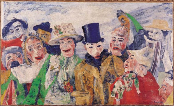James Ensor, 'De intrige'