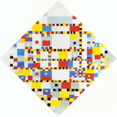 Piet Mondriaan, Victory Boogie Woogie