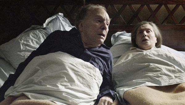 George en Anne in bed