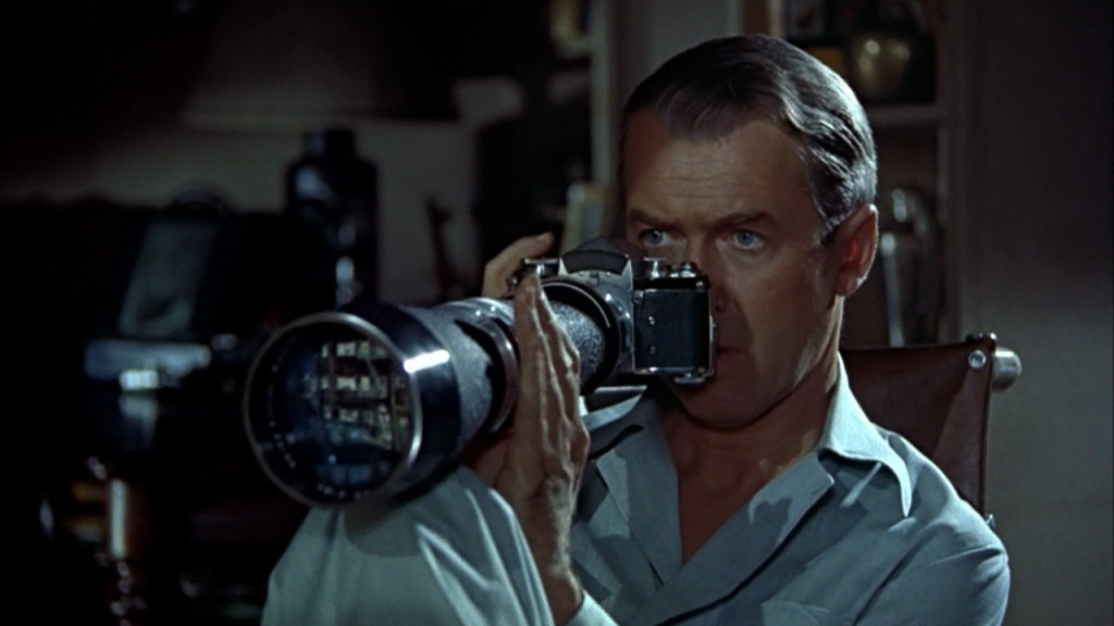 James Stewart in Rear Window
