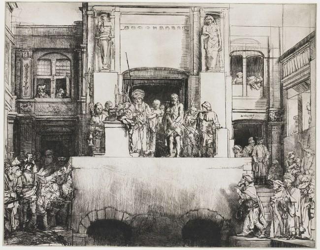Rembrandt, Ecce Homo, 1655.