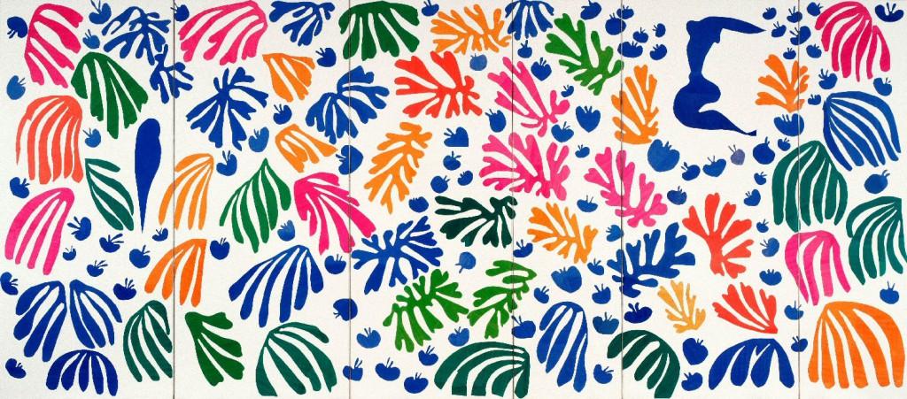 Matisse, 'La perruche et la sirène', 1952-1953, 337 x 768,5 cm.