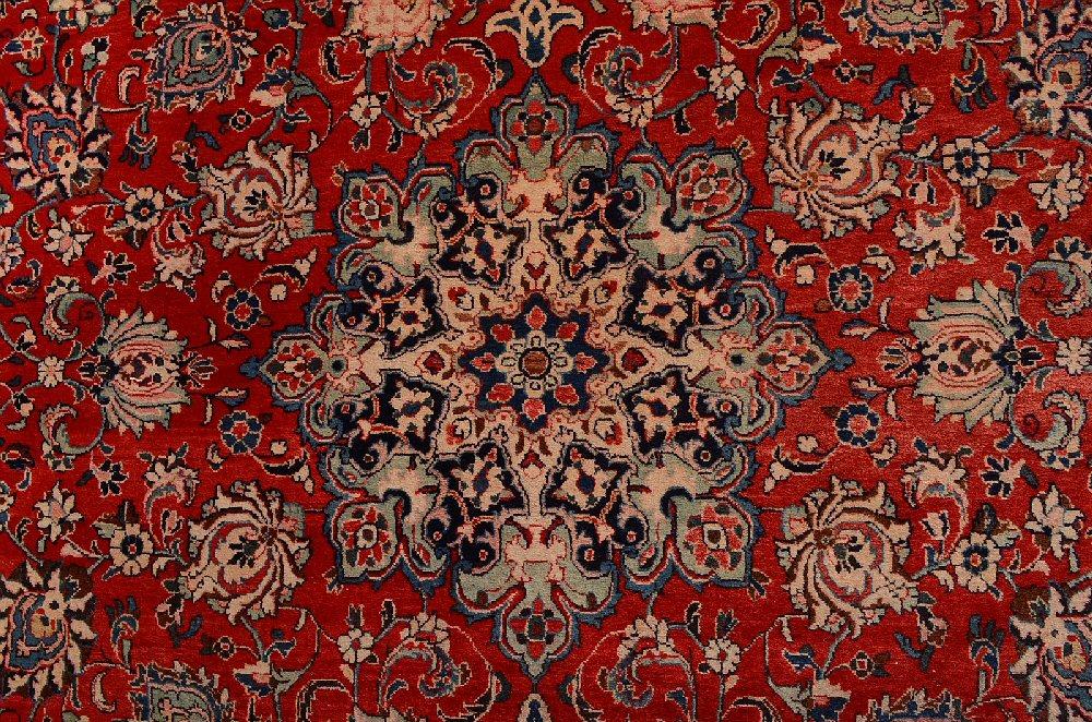 Sarouktapijt uit Iran, 357 x 276 cm.