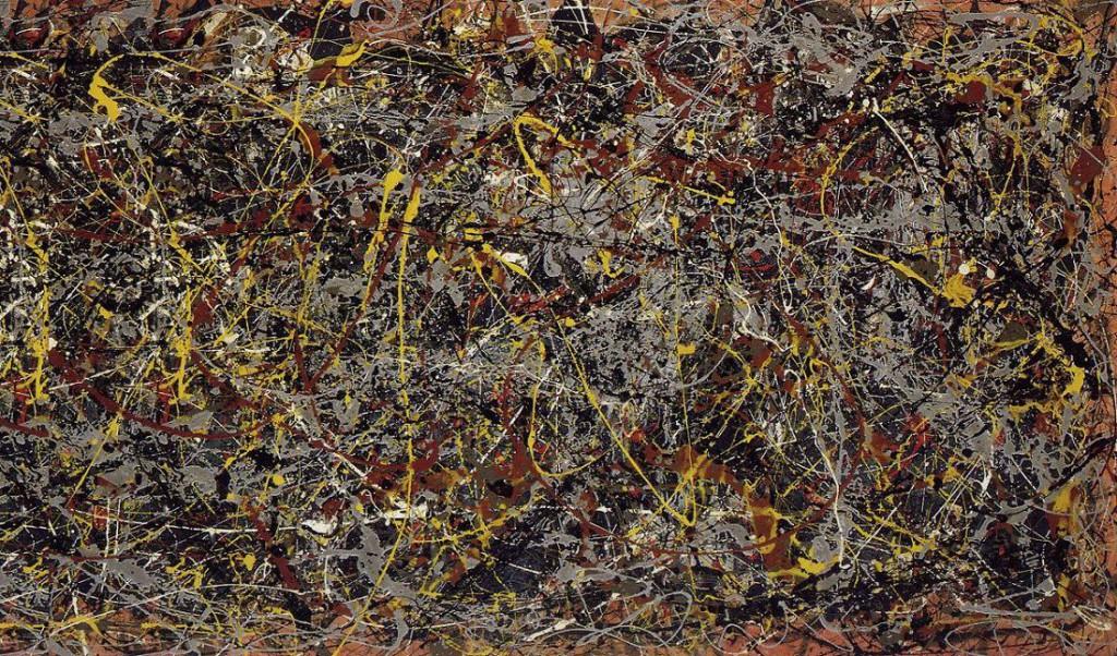 Jackson Pollock, 'No. 5', 240 x 120 cm, 1948.