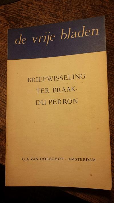 Omslag briefwisseling Ter Braak Du Perron
