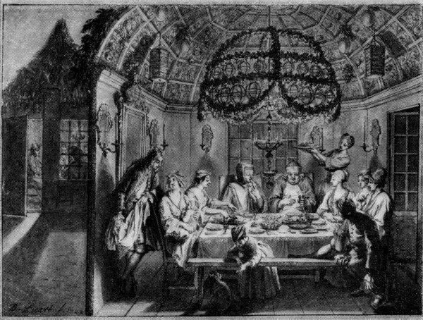 Bernard Picart, 'De maaltijd in de loofhutten', Museum Fodor, Amsterdam