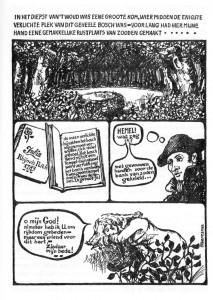Strip door Faber Heeresma