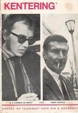 Omslag van een aflevering van het tijdschrift 'Kentering', 1968.