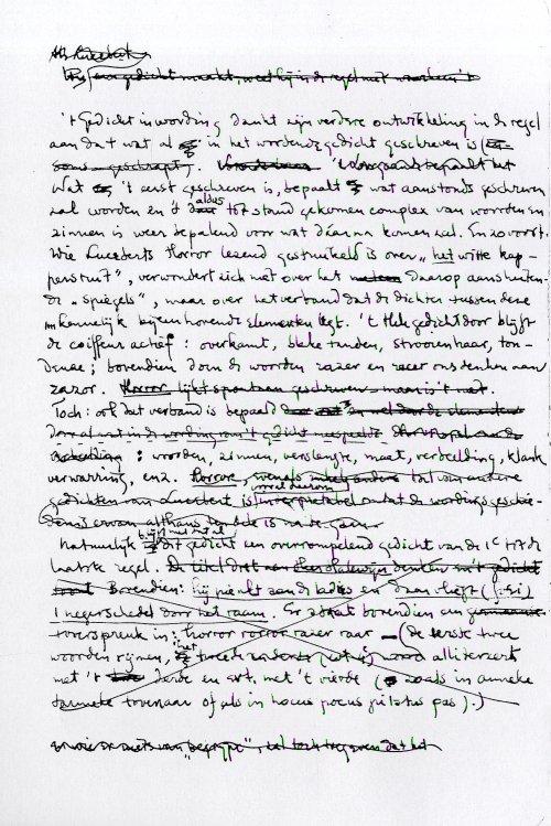 manuscriptbladzijde