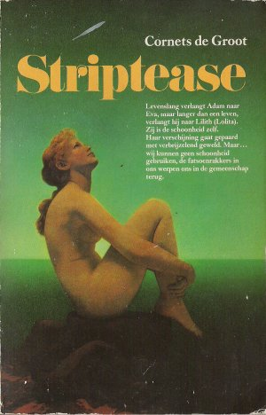 Versozijde omslag 'Striptease'