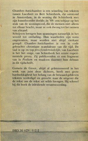 Rectozijde omslag Chambre-antichambre