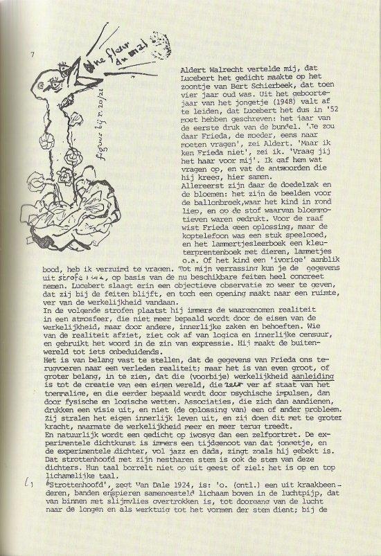 Pagina uit typoscript