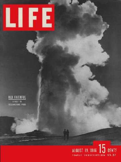 Omslag Life magazine met atoompaddenstoel