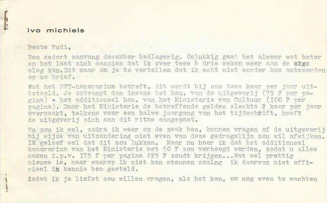 Facsimile van brief nr. 7 versozijde