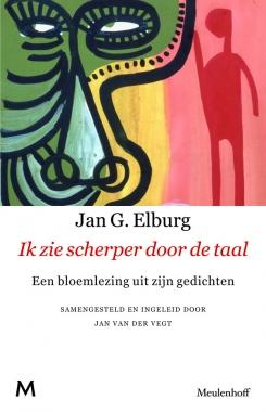 Omslag Jan Elburg, 'Ik zie scherper door de taal'