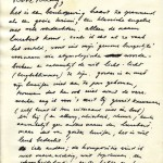 Facsimile van blz. 1 brief