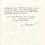 Facsimile van blz. 2 brief