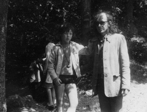 Op vakantie in de Ardennen, 1971.