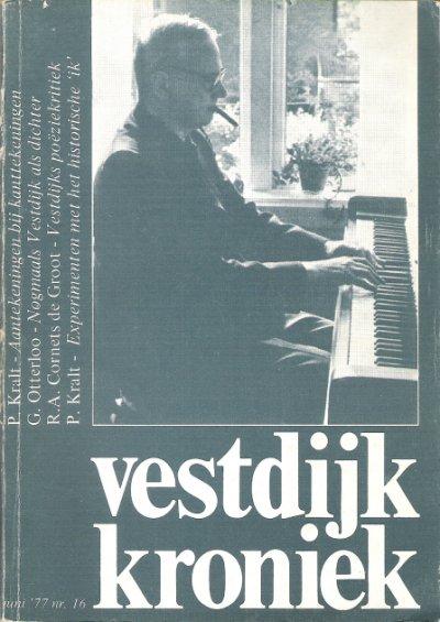 Omslag Vestdijkkroniek nr. 16, juni 1977
