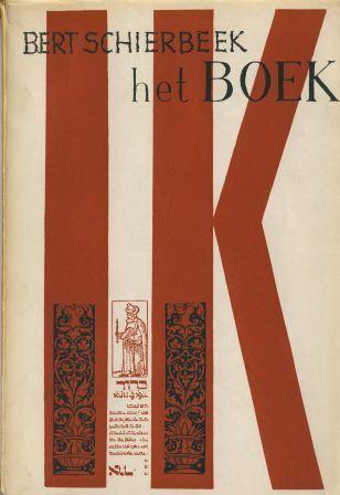 Omslag door Lucebert van Schierbeeks 'Het boek ik' (1951).