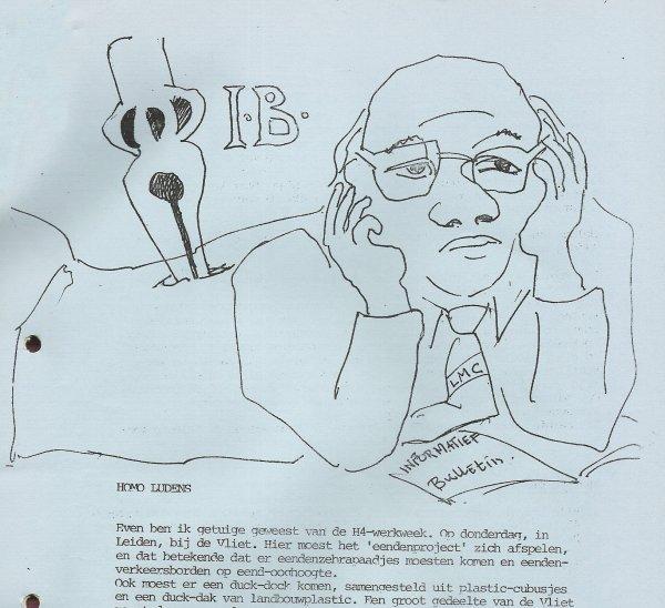 Deel van pagina met tekening van Cornets de Groot