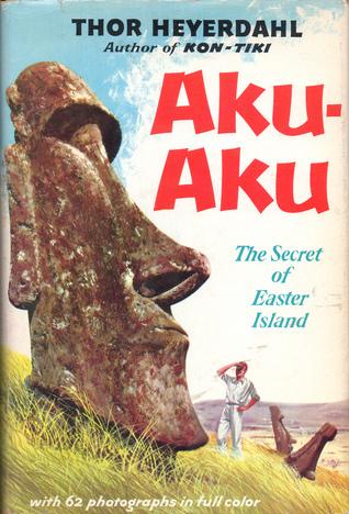 Omslag boek Heyerdahl over Paaseiland