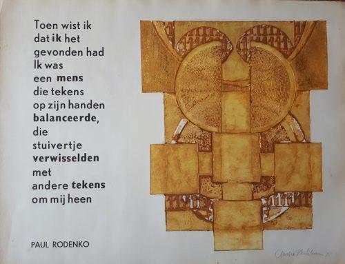 Tekst Rodenko bij grafiek van Kerkhoven